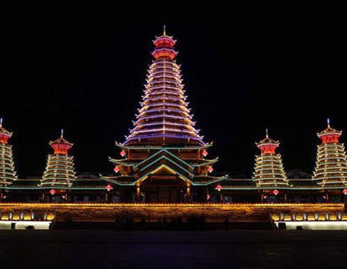 新晃县城市景观亮化