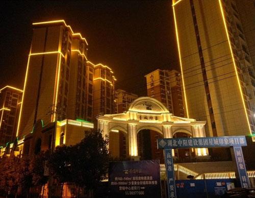 武汉楼体亮化工程-武汉星城印象