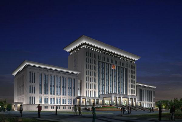 武汉市政亮化工程-河南固始中级人民法院