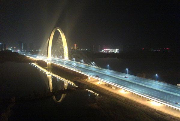 道路照明工程-彩虹桥